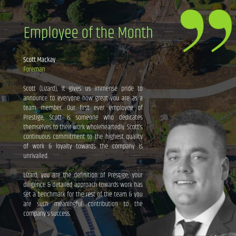 Employee of the Month - July