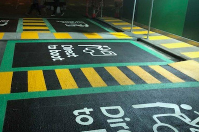 New Internal Line Marking Department
