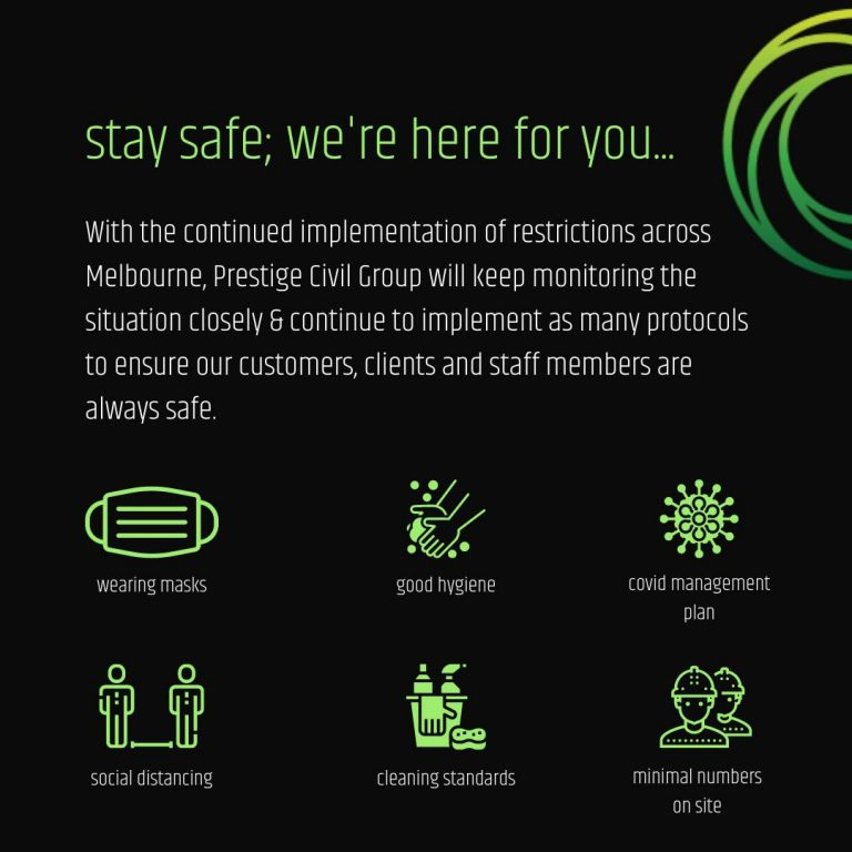 Stay safe, we're here for you...
